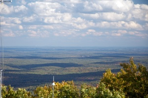 Looking towards Boston from Summit of Pack Monadnock
